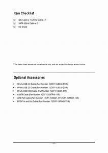 Motherboard Manual Ga M61p S3 E