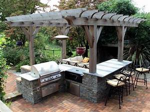 Outdoor, Kitchen, Layout, U2013, How, To, Welcome, The, Christmas, Better, U2013, Homesfeed