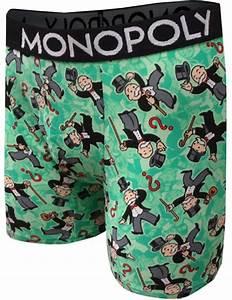 Webundies Com Monopoly Mr Monopoly Money Bags Boxer Briefs