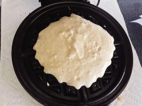 homemade belgian waffles recipe  scratch  good blog