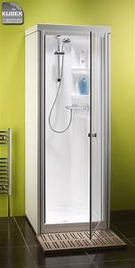 Kubex compact shower pod the small shower cubicle for Shower cubicles for small bathrooms uk