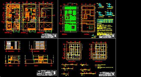 duplex dwg section  autocad designs cad