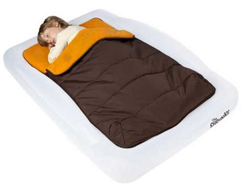 the shrunks toddler travel bed a comfortable and cosy outdoor toddler travel bed from the