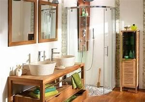 Salle De Bain Exotique : 4 id es pour une salle de bains exotique elle d coration ~ Teatrodelosmanantiales.com Idées de Décoration