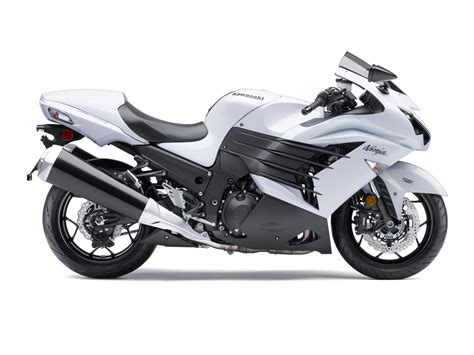 Kawasaki Zx 14r Image by 2015 Kawasaki Zx 14r Pearl White Edition Showing