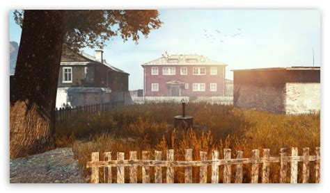 dayz village  hd desktop wallpaper   ultra hd tv