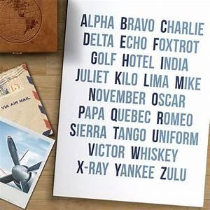 aviation alphabet print phonetic alphabet aviation gifts With aviation letter art
