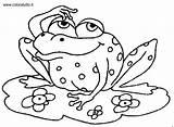 Sapos Sapo Colorear Desenhos Colorir Coloriage Coloring Sapinhos Qui Frog Anfibi Disegni Grenouille Frosch Denkender Grenouilles Imprimir Tiere Imagenes Dibujos sketch template