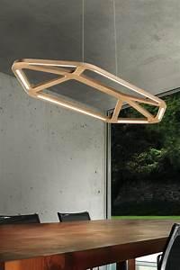 Suspension En Bois : suspension en bois naturel led aki r f 13080034 ~ Teatrodelosmanantiales.com Idées de Décoration