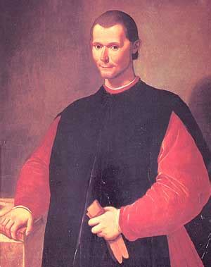 political philosophy niccolo machiavelli biography