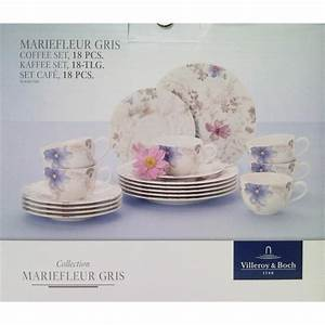 Villeroy Und Boch Mariefleur Gris : v b mariefleur gris basic kaffeeservice 18 tlg 6 gedecke villeroy boch ebay ~ Eleganceandgraceweddings.com Haus und Dekorationen