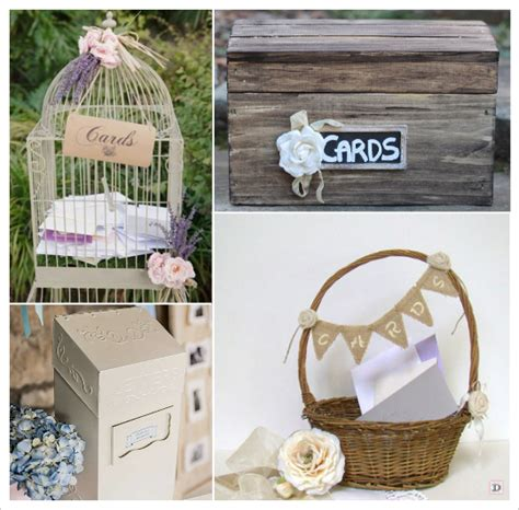 decoration boite de mariage idees mariage provence