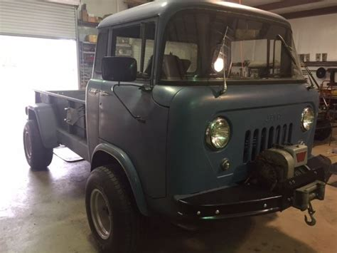 jeep cabover for sale 1957 jeep forward control fc 170 4wd pickup cab over