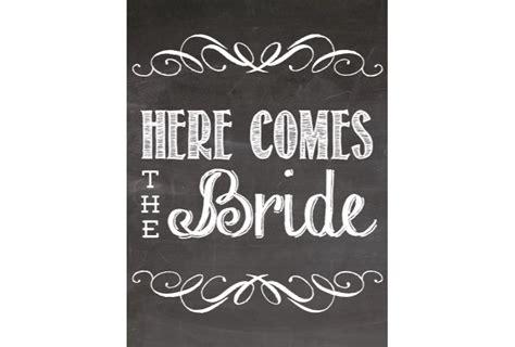 Bridal Chalkboard Style Sign Signitupcom