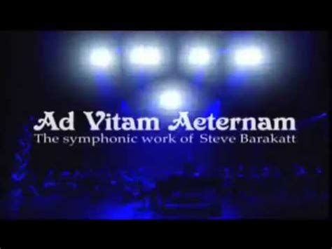 ad vitam aeternam the symphonic work of steve barakatt