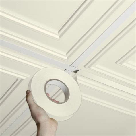 Ceilume Ceiling Tile Adhesive by Grid Tape Sand