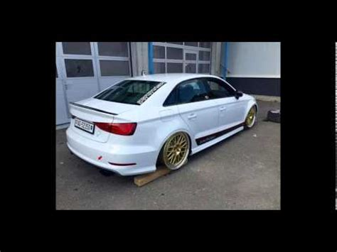 audi a3 limousine tuning audi a3 s3 limousine tuning by mbdesign 20 zoll gewindefahrwerk