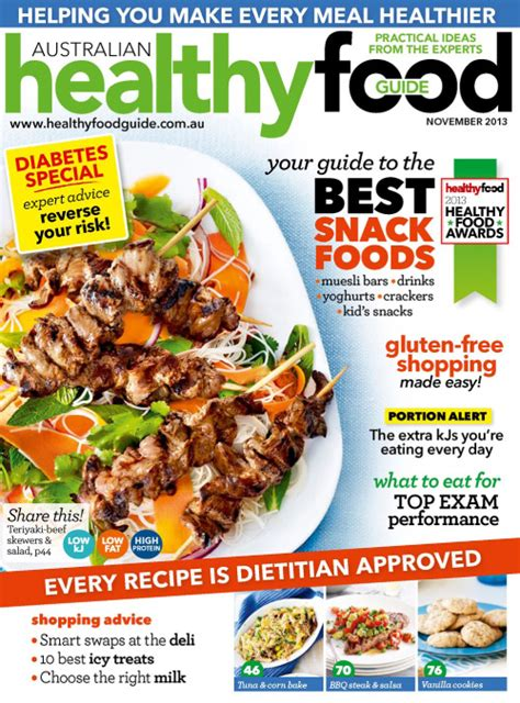 guide cuisine magazine image gallery healthy food magazines