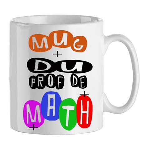 prof de cuisine mug cadeau pour prof de math mug professeur mathématiques