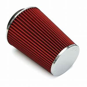 4 Inch Red Truck Long Performance High Flow Cold Air