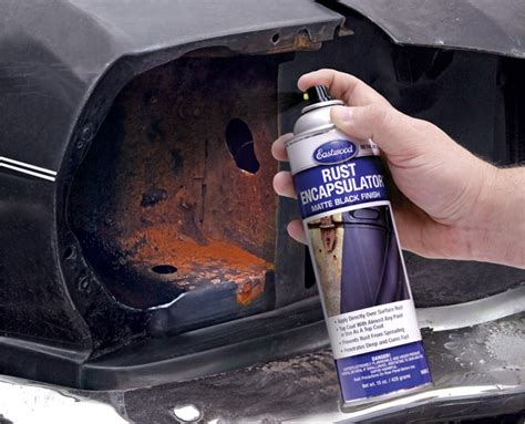 rusting rust protect protection eastwood cars auto encapsulator done right