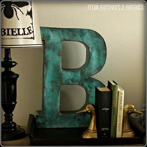 17 best images about alphabet soup on pinterest initials With giant paper mache letters