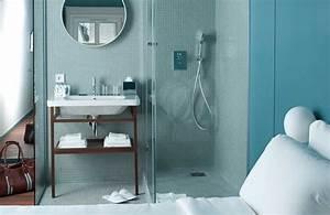 Store Salle De Bain : am nager une mini salle de bain styles de bain ~ Edinachiropracticcenter.com Idées de Décoration
