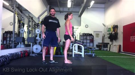 kettlebell instruction swing