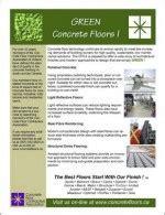 Concrete Flooring Materials & Equipment   Concrete Floor