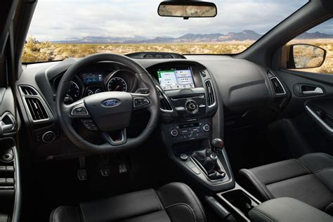 ford focus sedan hatchback detailed interior