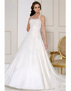 modest applique white halter beach wedding dresses summer With td wedding dresses
