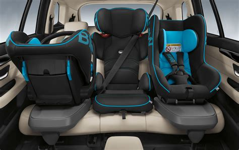 siege auto baby go bmw 2 series gran tourer offers seven seats and four wheel