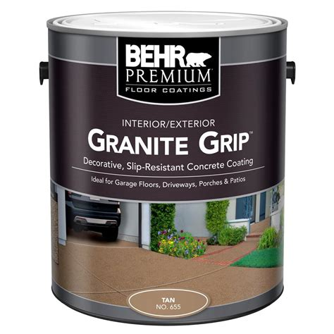 behr 1 gal 65501 granite grip interior exterior