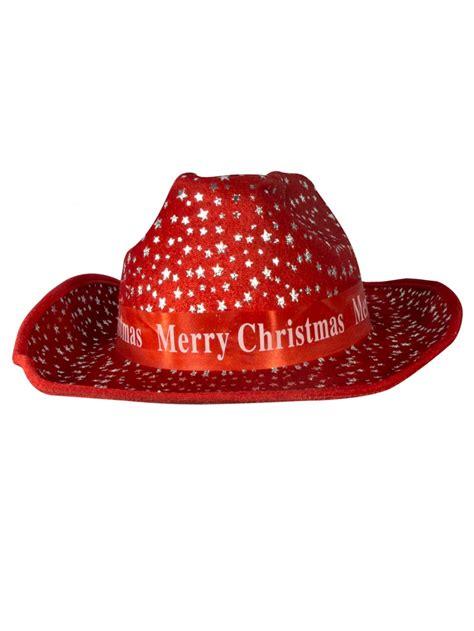 merry christmas cowboy hat 36cm santa hats suits