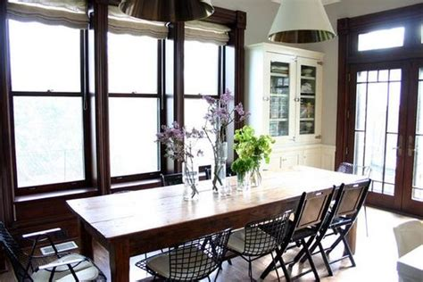 country kitchen table 10 combinations between modern chairs and Modern