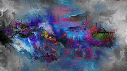 Abstract Desktop Nature Painting Backgrounds Pc Mac