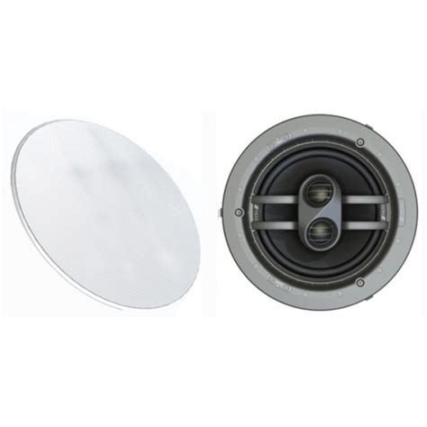 Home » shop » in ceiling » niles cm7fx in ceiling… magnetically attached microthin™ round speaker grilles ensure a clean, unobtrusive designer appearance that blends with the room's. Niles CM7FX In-ceiling Speakers - Hi-Fi, TV + Home Cinema ...