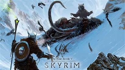 Skyrim Concept Elder Scrolls Games