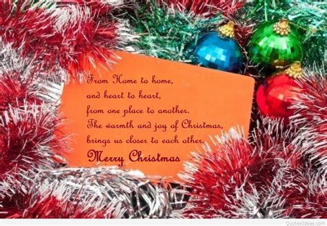 inspirational merry christmas quote image to share facebook