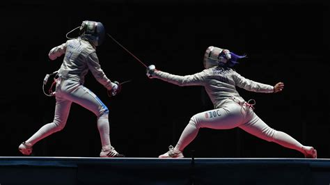 womens team sabre fencing  takes bronze  italy