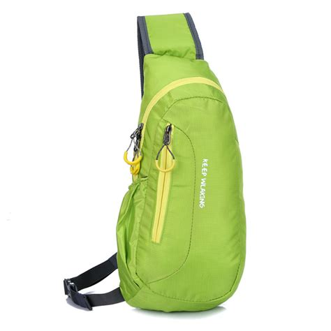 unisex sling chest bag shoulder backpack crossbody bag