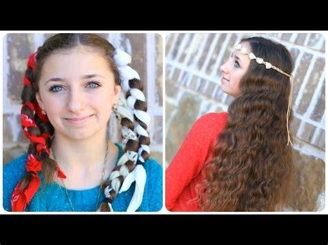 style hair overnight no heat bandana curls overnight hairstyles 6313
