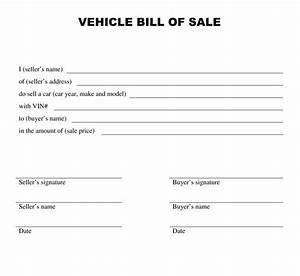 How do i write a bill of sale