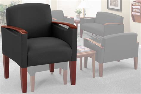 brewster heavy duty reception waiting room series guest chair