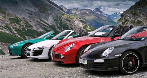 Top 5 Most Affordable Exotic Cars