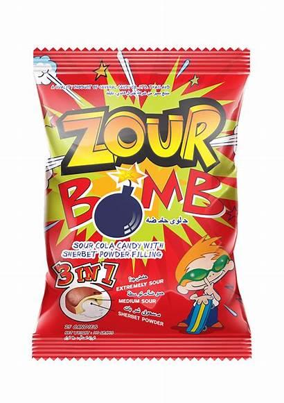 Zour Bomb Candy Cola Flavour Sour Flavours
