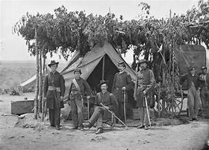 American Civil War: Union Army officers in Virginia ...