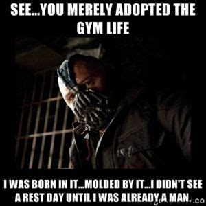 Bane Memes - bane fitness meme fitness pinterest