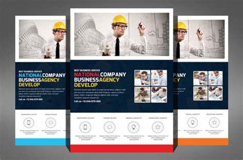 construction company flyer templates psd ai