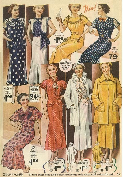 chicago mail order sale catalog august   fashion